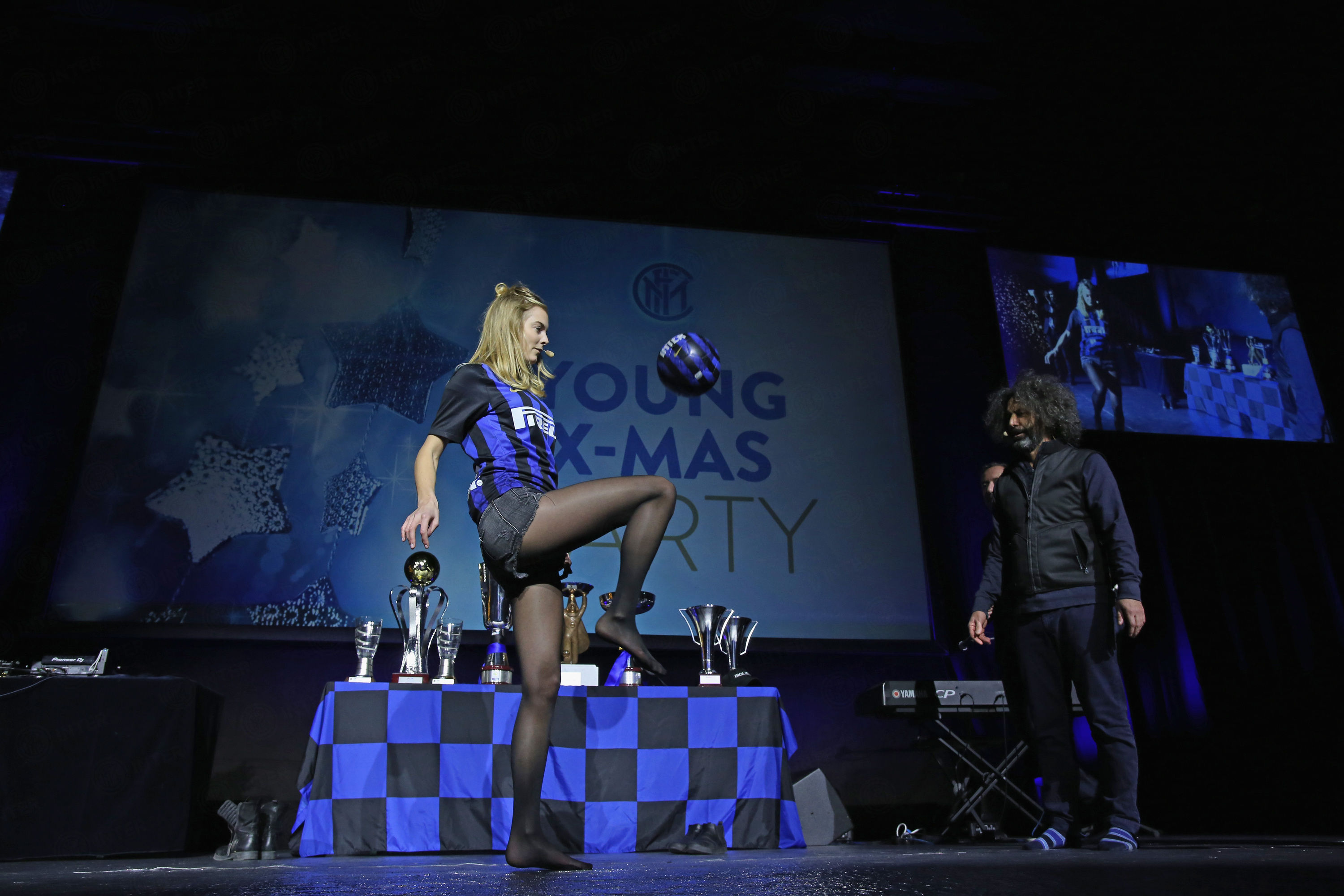 Young Xmas Party: Christmas festivities for the Nerazzurri's Elite Academy