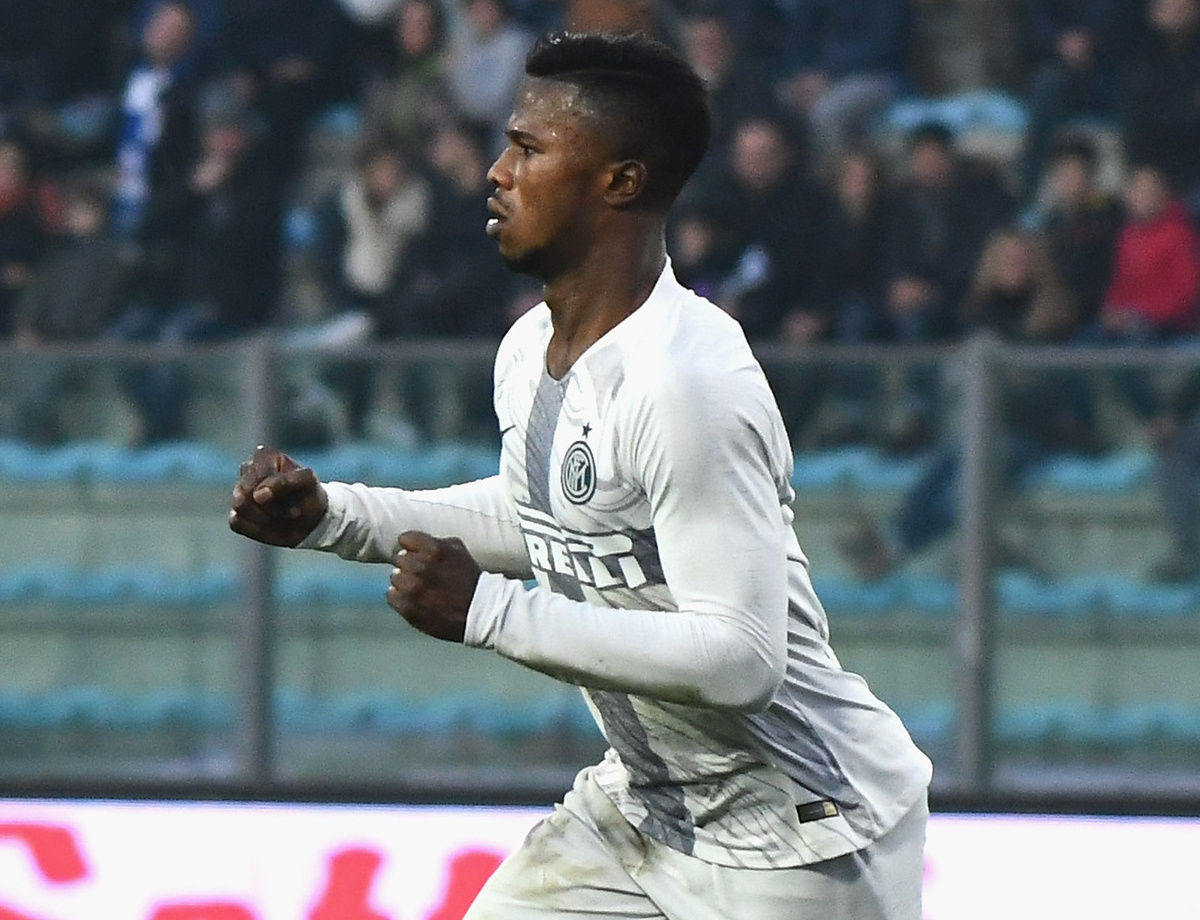 Keita goal proves decisive in Empoli: Inter finish 2018 with a win