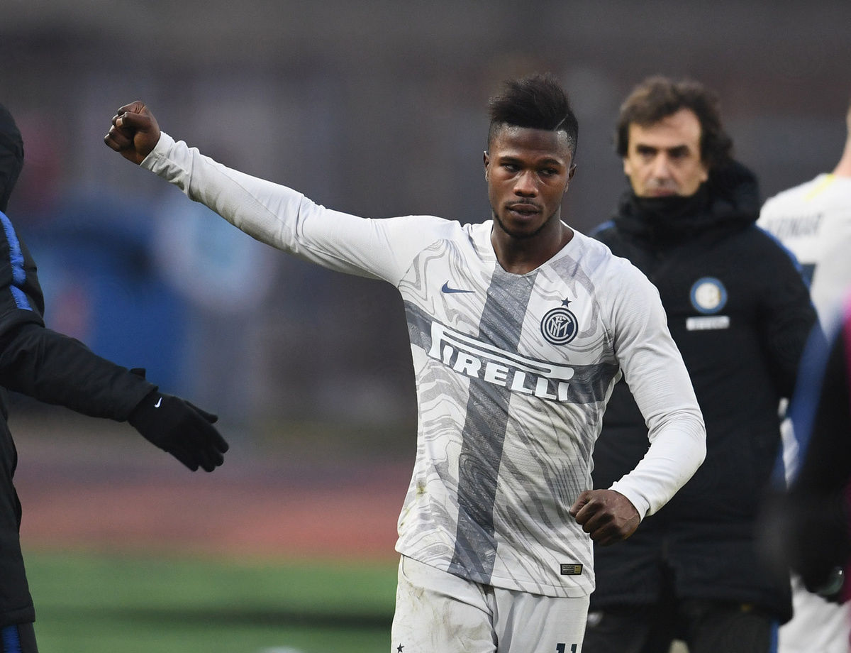 """Keita: """"We are aiming high because we are Inter"""""""