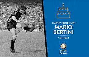 Happy Birthday to Mario Bertini