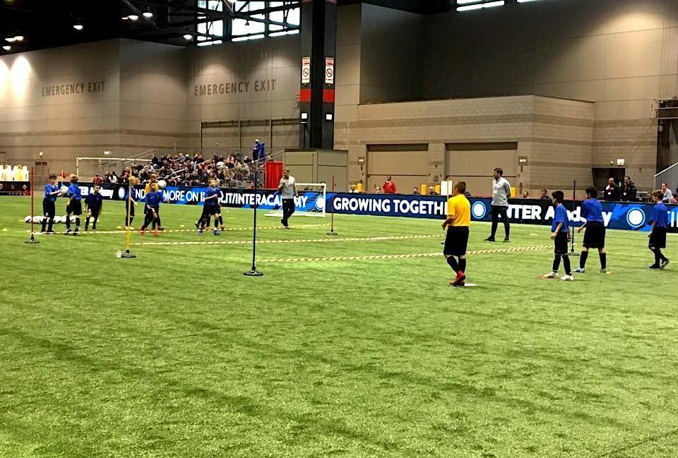 インテルがユナイテッド・サッカーコーチ・コンベンションに参加