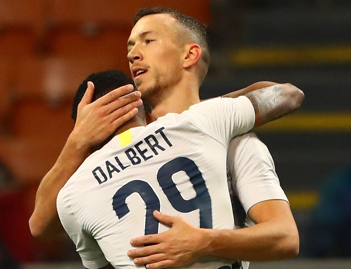 """Dalbert: """"I'm happy to have scored my first goal for Inter"""""""