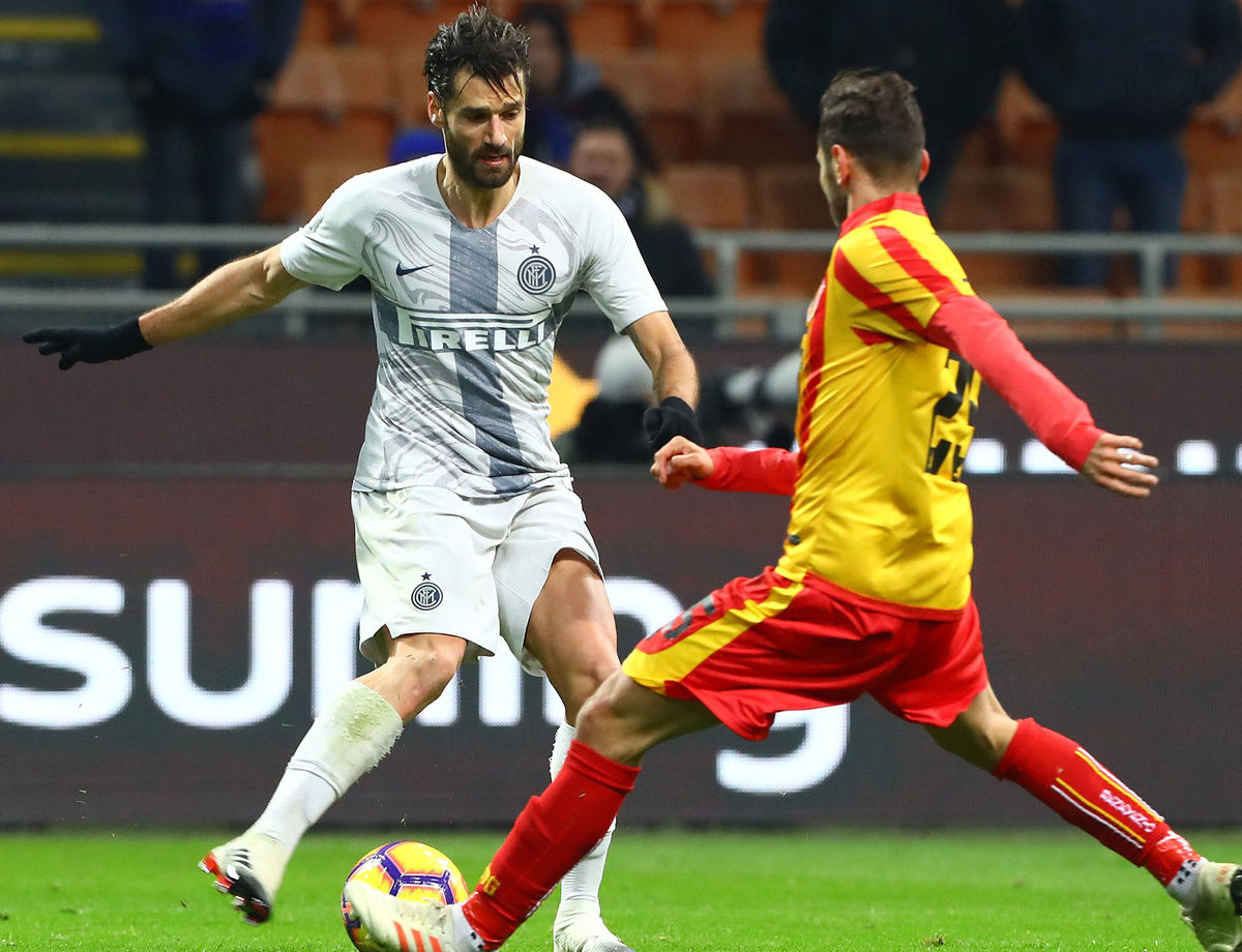 "Candreva: ""We want to reach the latter stages of the Coppa Italia"""