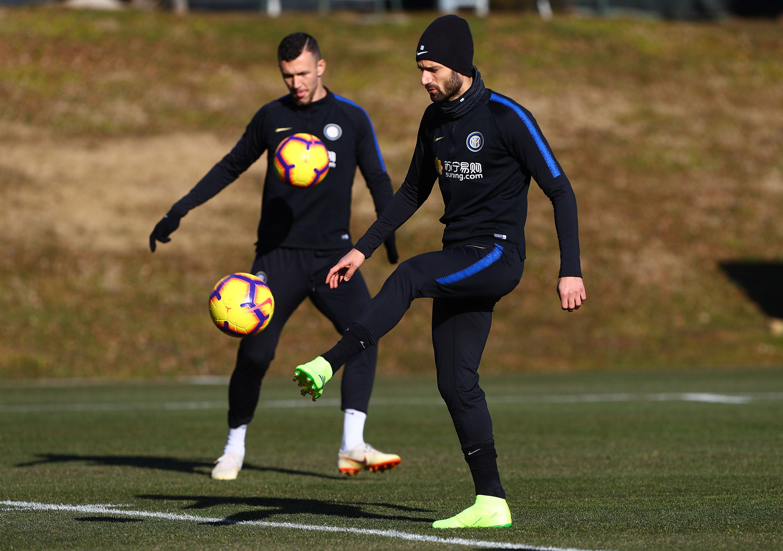 Entrenamiento matutino de cara al Inter vs. Sassuolo