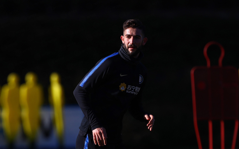 Morning training ahead of Inter vs. Sassuolo