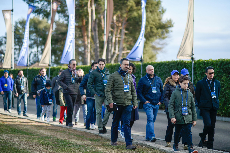 Appiano Day Sponsor al Centro Sportivo Suning
