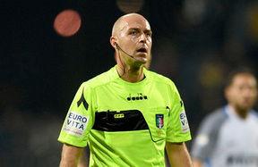 Pairetto to referee Inter vs. Sassuolo