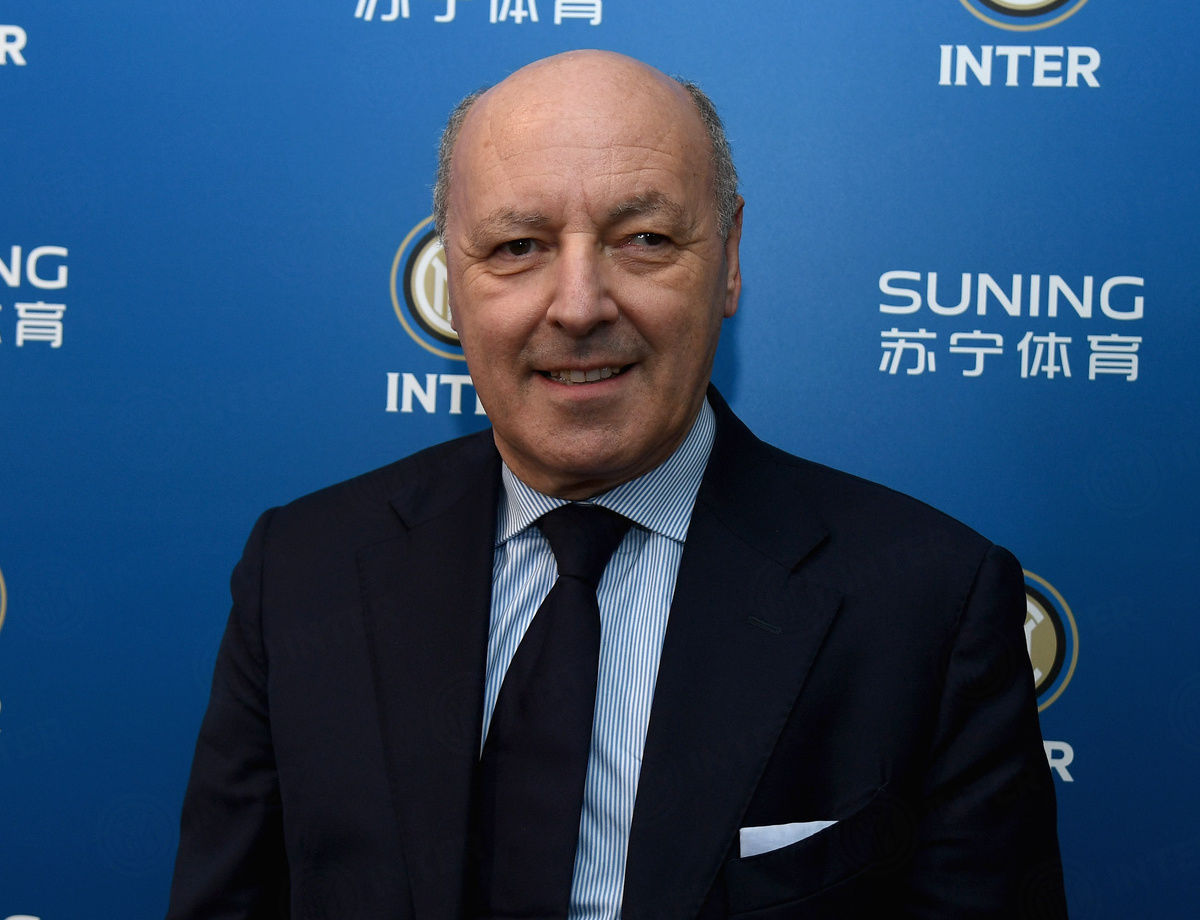 """Marotta: """"With BUU, Inter wanted to send out a strong message"""""""