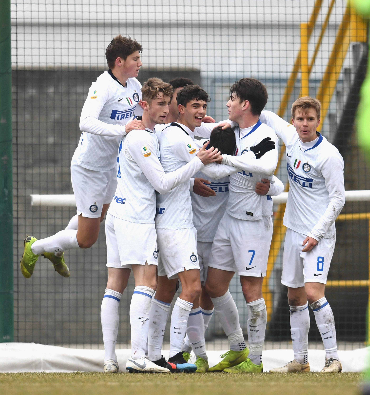 L'Inter vola in semifinale di Primavera TIM Cup: le foto del 2-0 contro il Cosenza