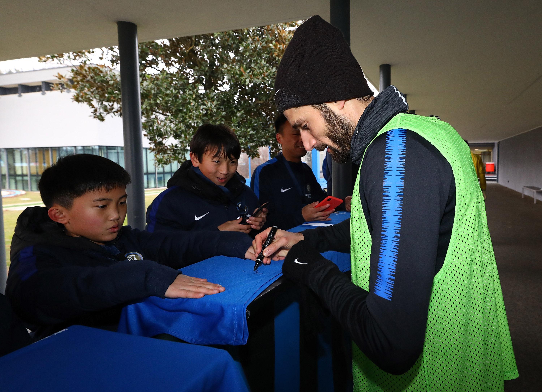 Internship in Milan for Inter Academy Sichuan