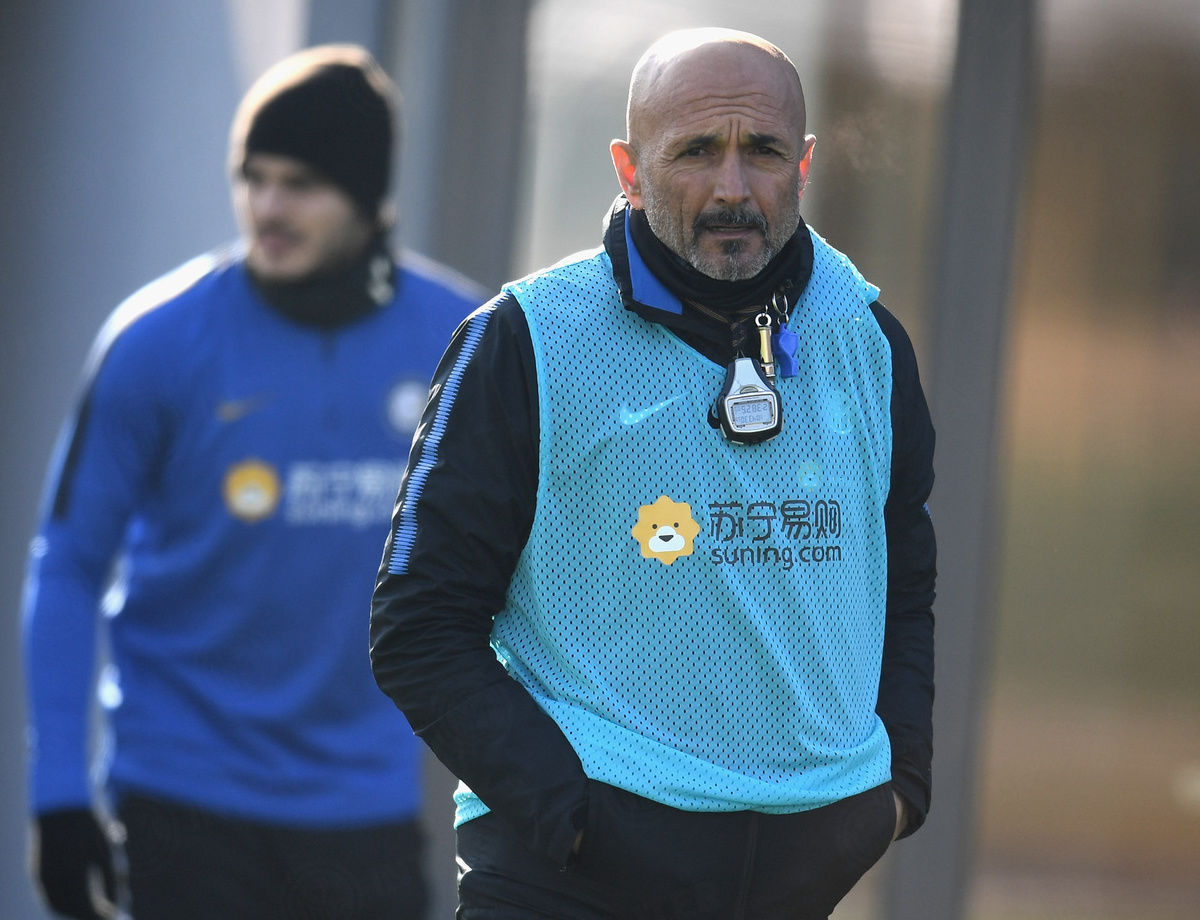 Speed drills, rondos and tactical work ahead of Torino match
