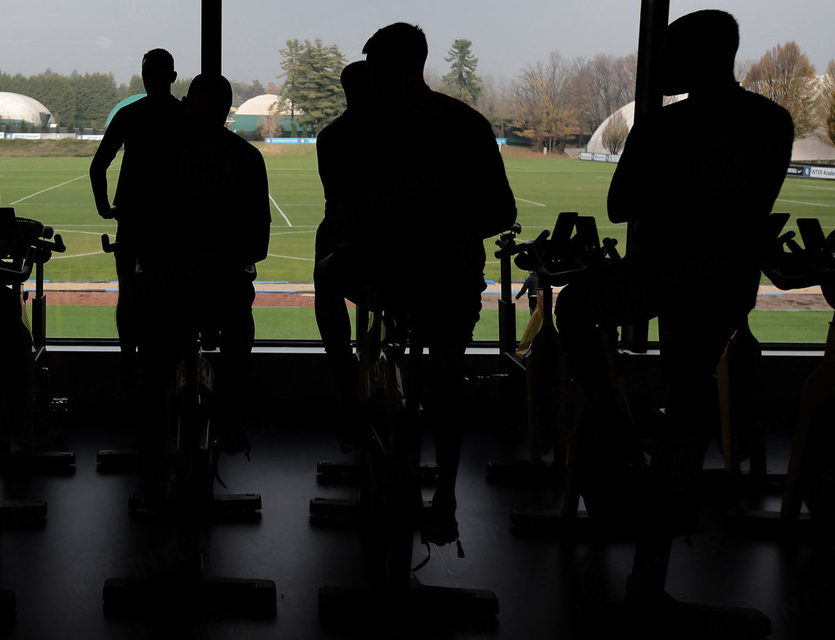 Inter immediately return to training at Appiano