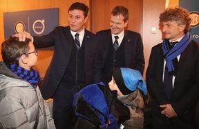 """Football Therapy: inaugurato con Volvo uno Sky Box speciale al """"Meazza"""""""