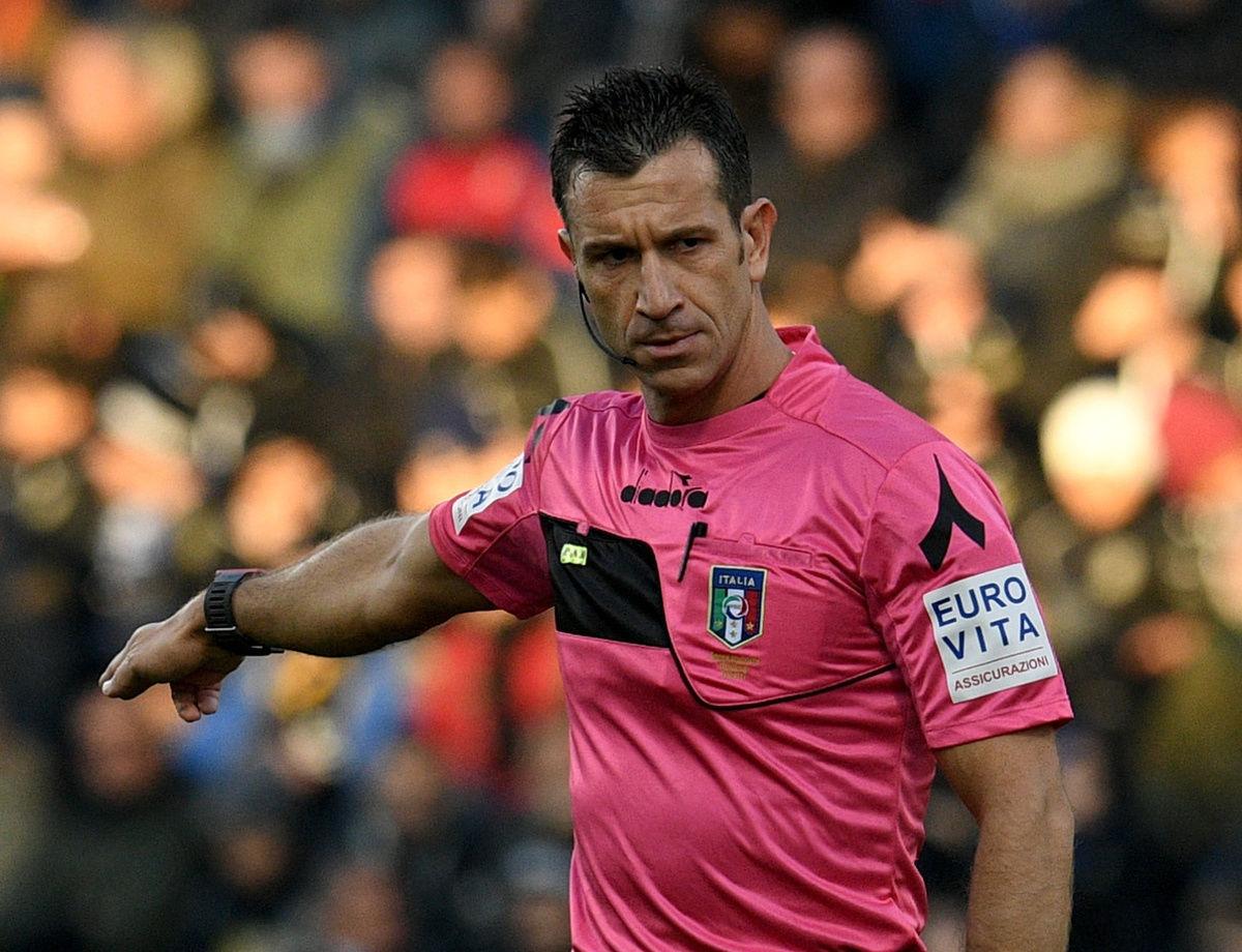 Sarà Doveri l'arbitro di Inter-Sampdoria