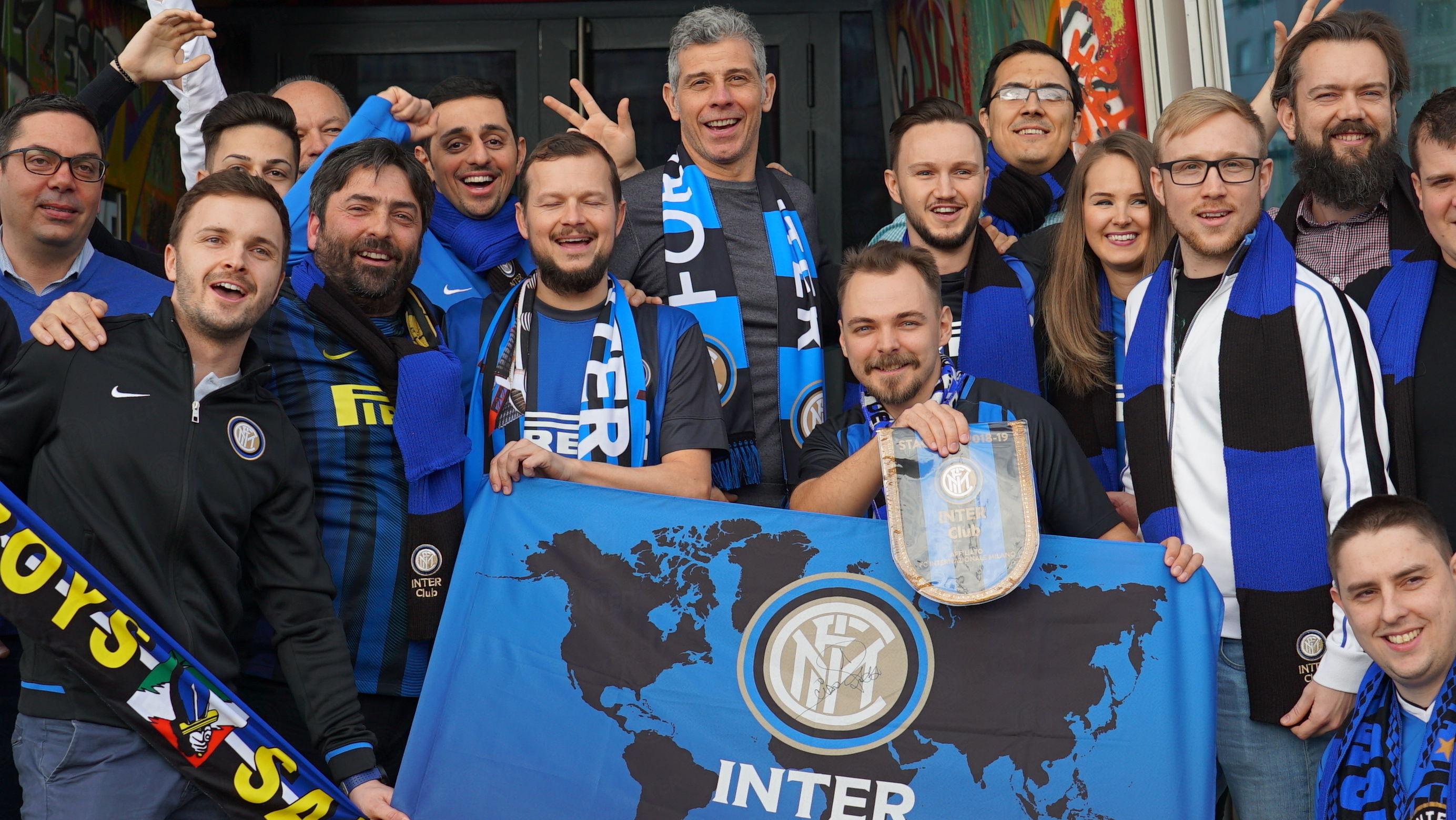 国际米兰奥地利球迷俱乐部与托尔多见面
