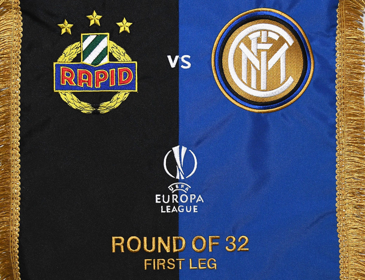 UEL, susunan pemain Rapid Vienna vs. Inter