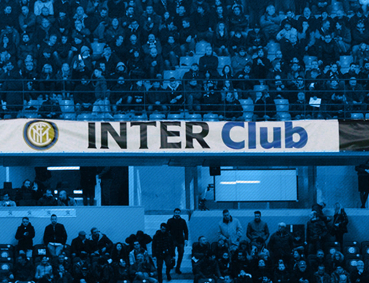 Inter vs. Sampdoria: Approved banners