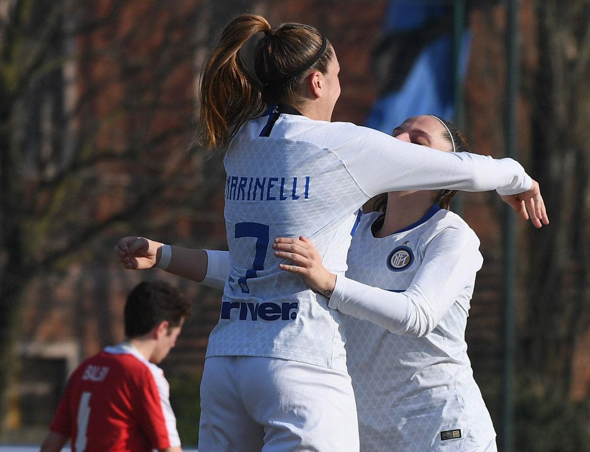 Femminile, sei nerazzurre convocate dall'Italia U23