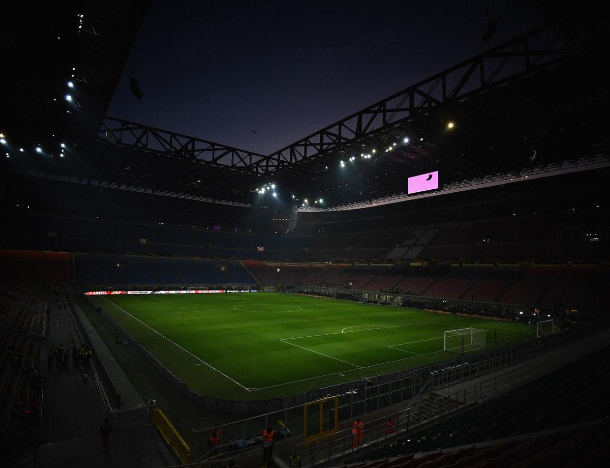 Ticket information for Inter vs. Eintracht at San Siro