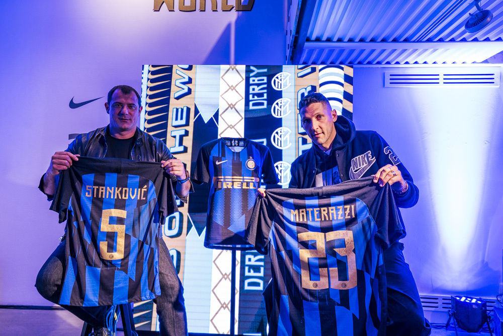 Inter and Nike launch the shirt celebrating 20 years of partnership