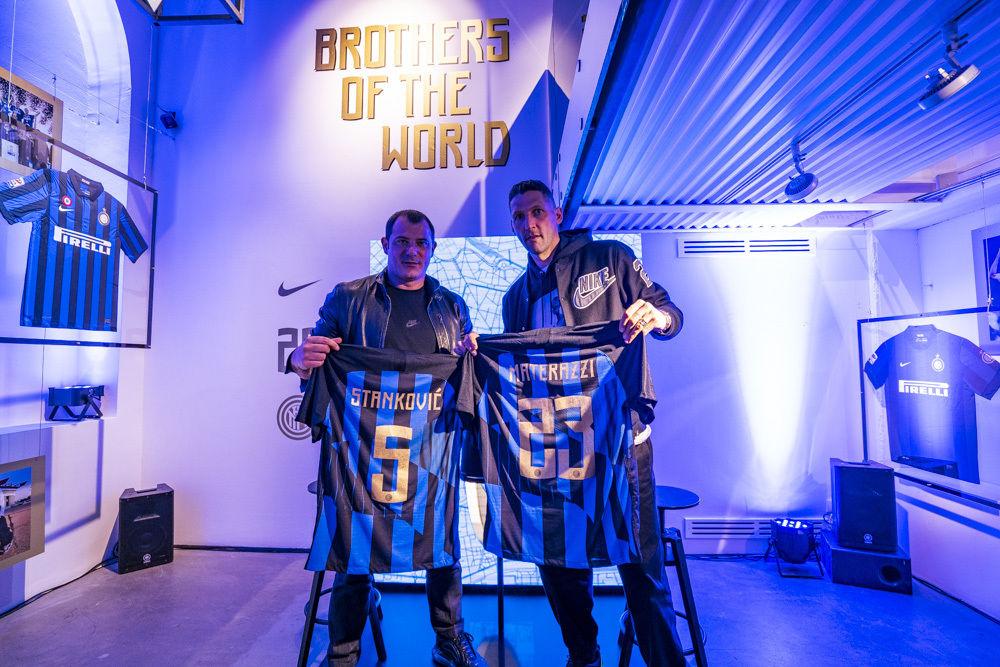 Inter e Nike lanciano la maglia dei 20 anni di partnership