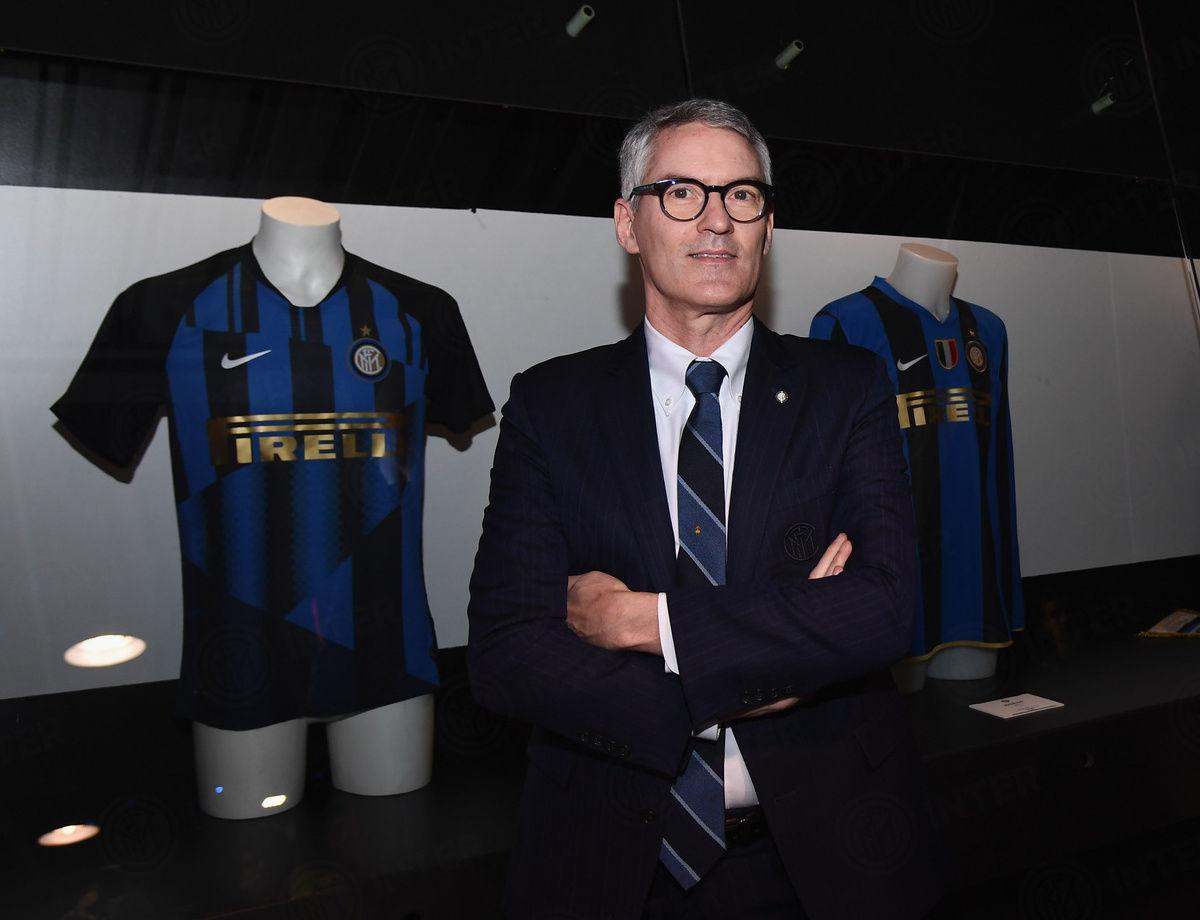 "Alessandro Antonello alla mostra speciale ""Inter 111 - Temporary Exhibition"""
