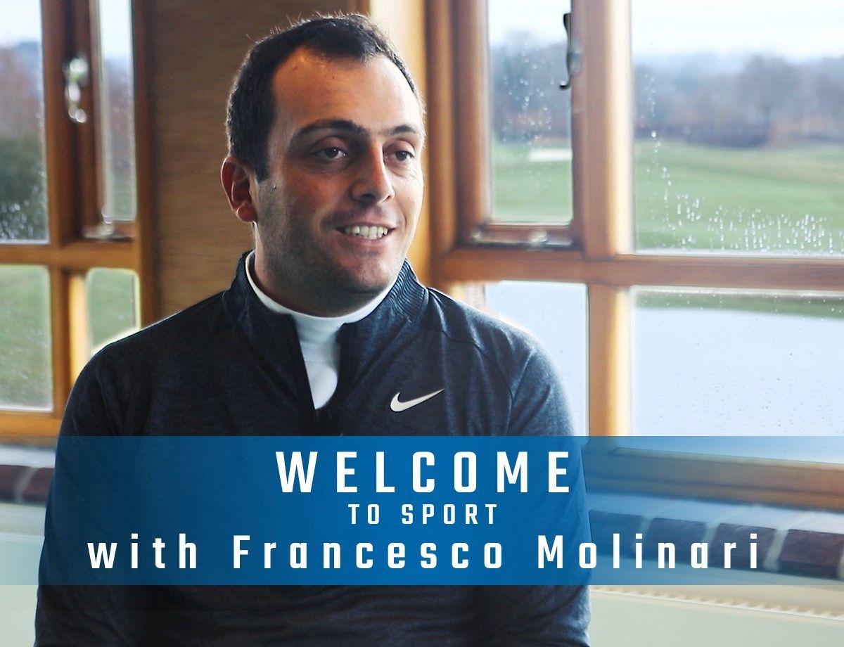Francesco Molinari stars in Welcome To