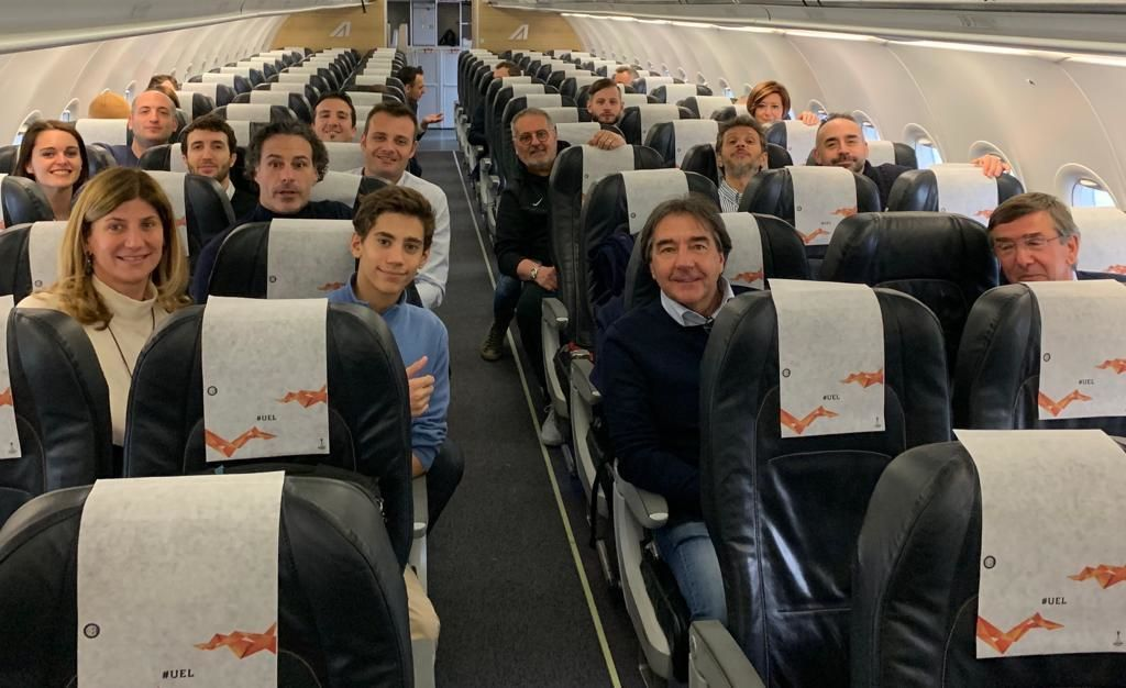 UEL, Nerazzurri partners travel to Frankfurt