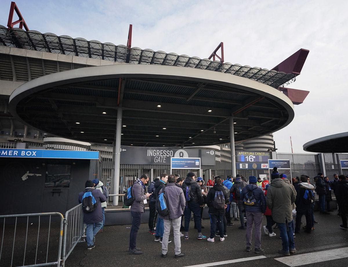 Inter vs. Eintracht: Stadium access information