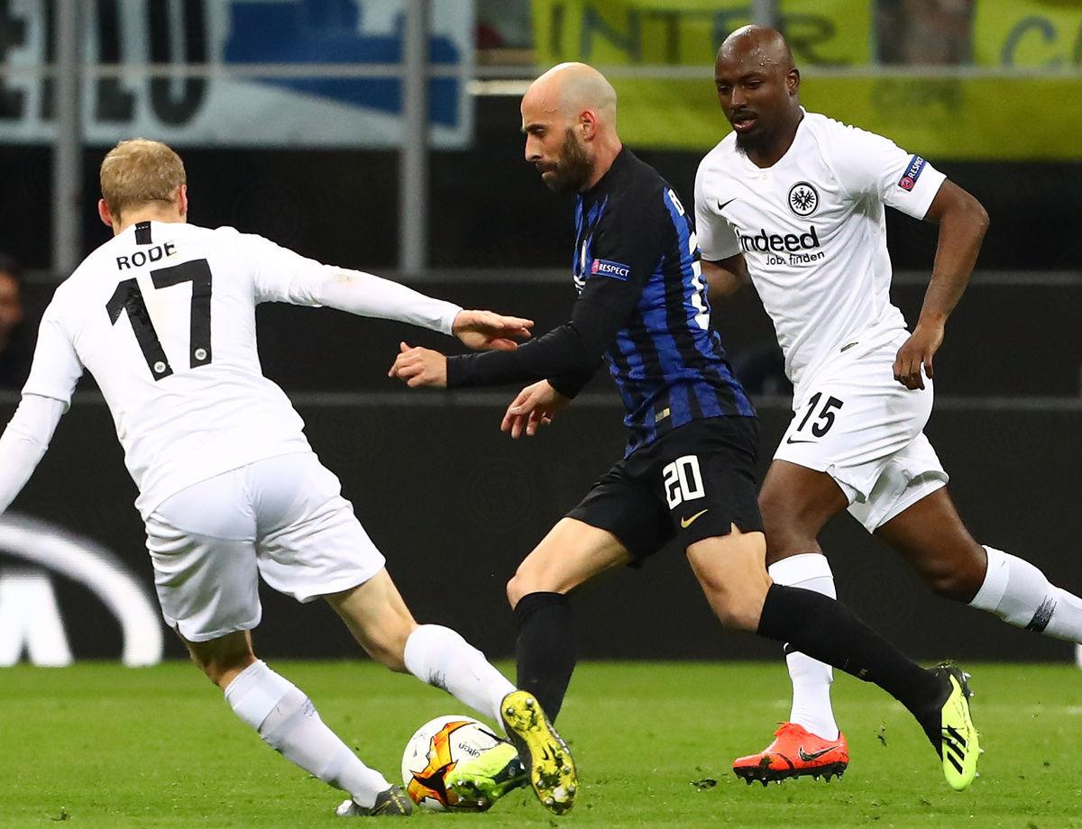 Inter-Eintracht 0-1, nerazzurri fuori dall'Europa League