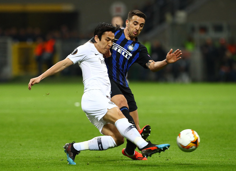 La galería del Inter vs. Eintracht