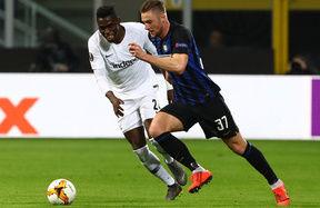 Le foto di Inter-Eintracht Francoforte