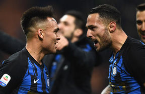 Inter starting to dominate the #DerbyMilano