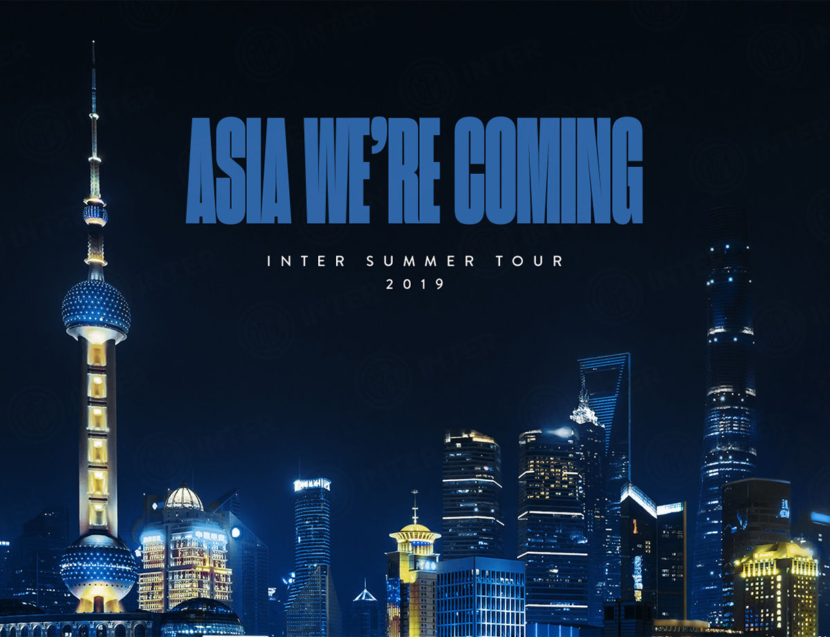 #InterOnTour: nuovo appuntamento in Asia