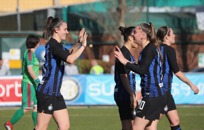 #InterWomen: è festa per le nostre ragazze dopo Inter-Arezzo