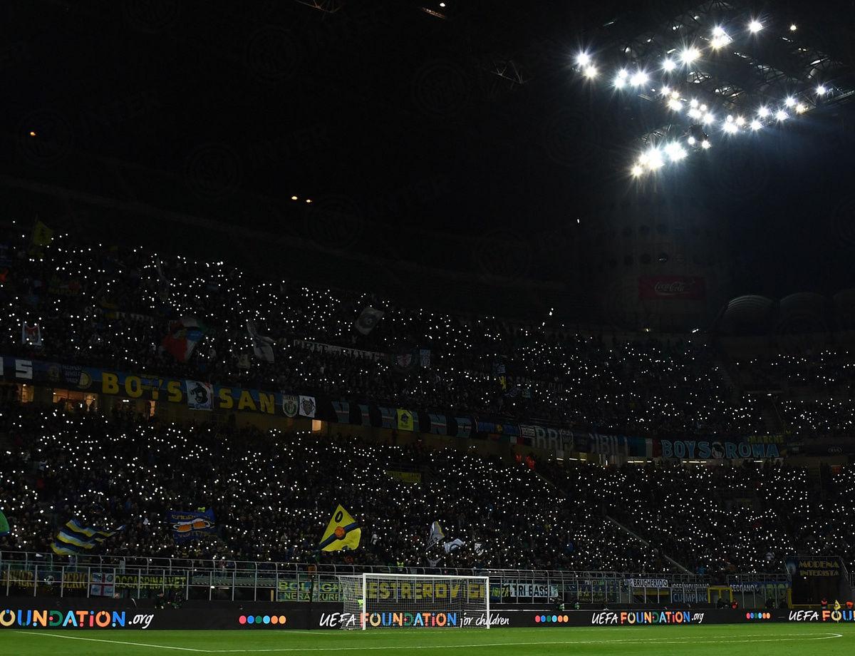 Inter-Lazio, unisciti ai 55mila del Meazza
