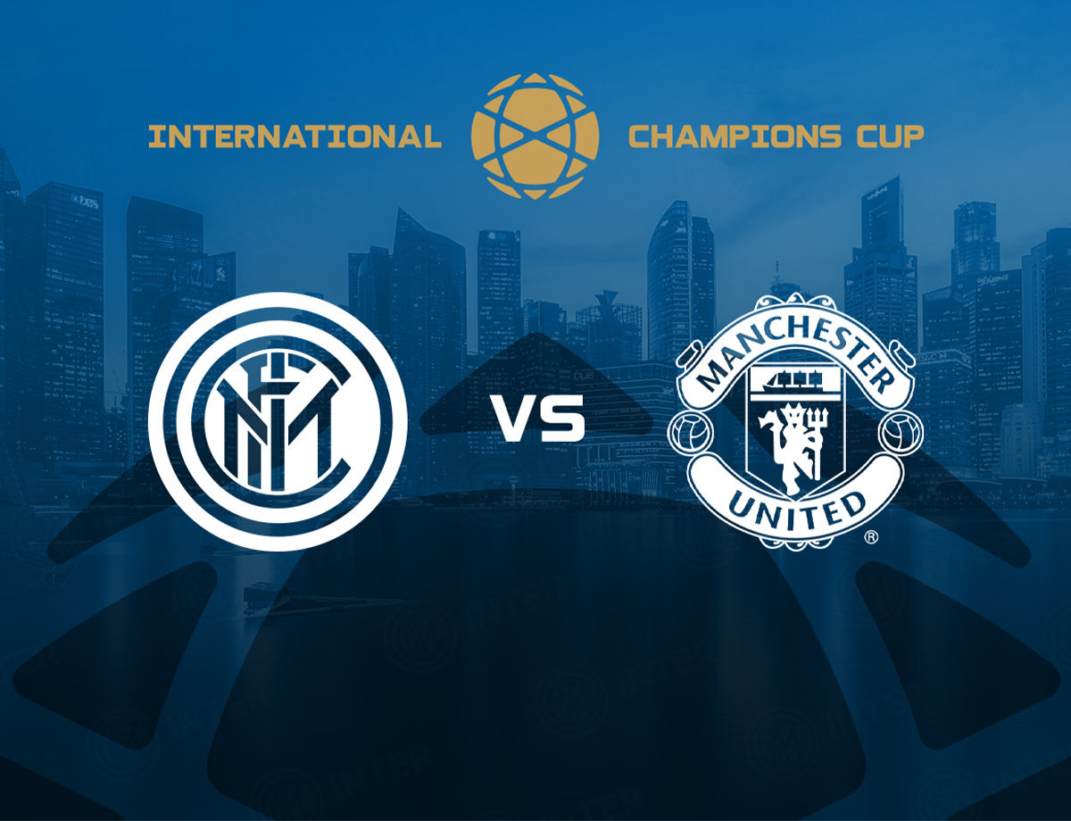 Inter Vs Manchester United Di International Champions Cup