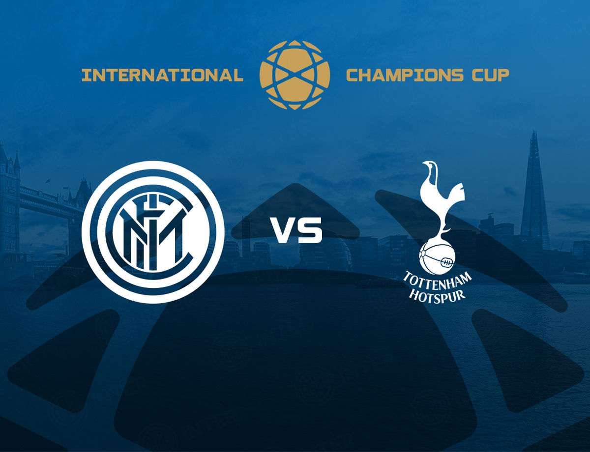 2019 International Champions Cup: Tottenham vs Inter en Londres el 4 de agosto