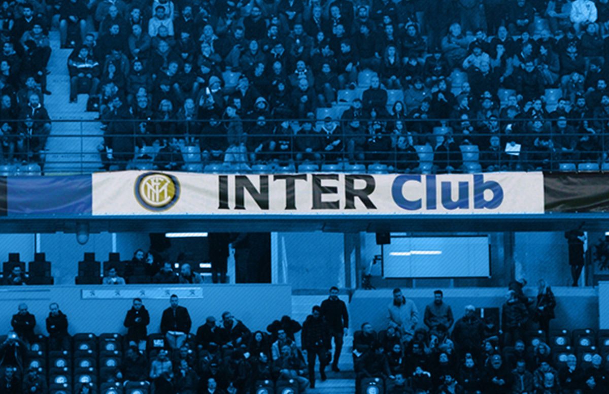 Inter-Lazio, striscioni accreditati