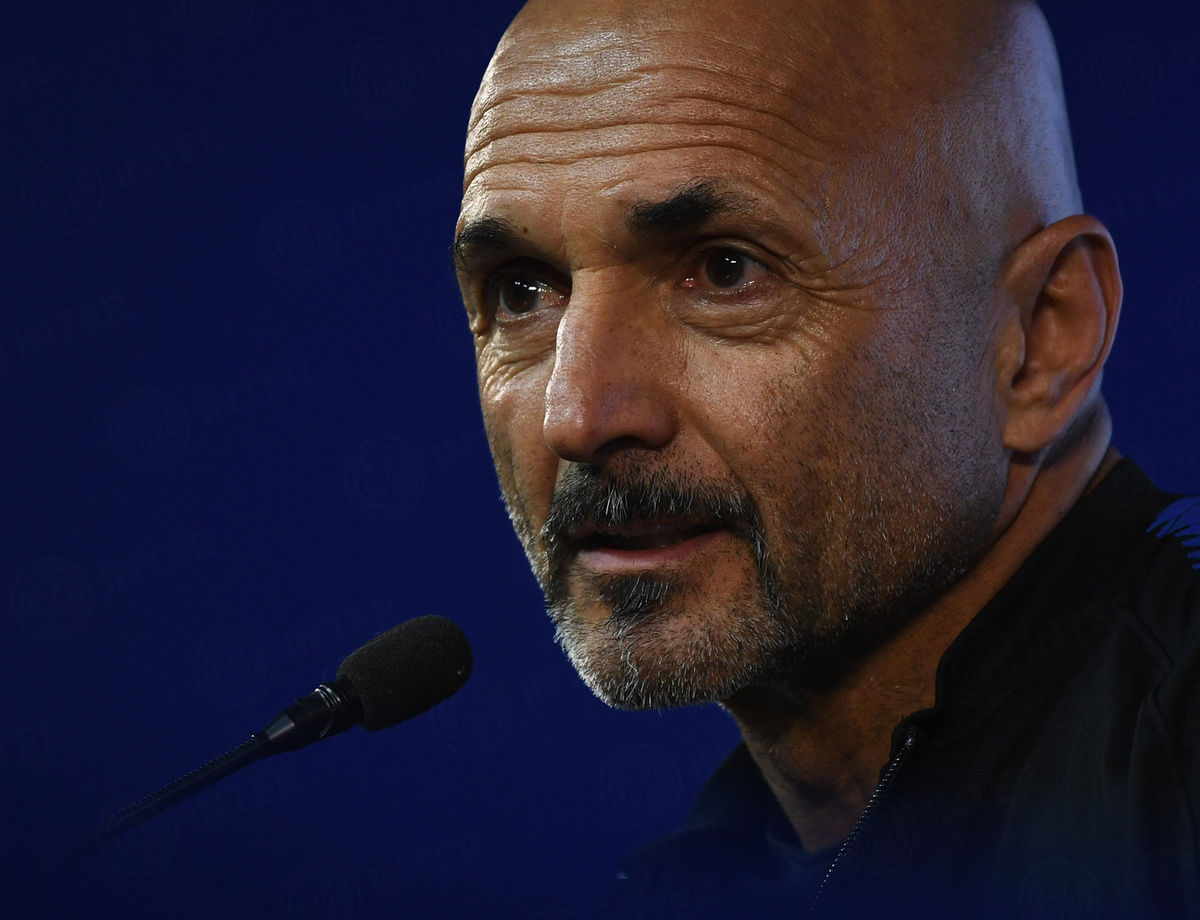 """Spalletti: """"The Lazio match is one between direct rivals"""""""