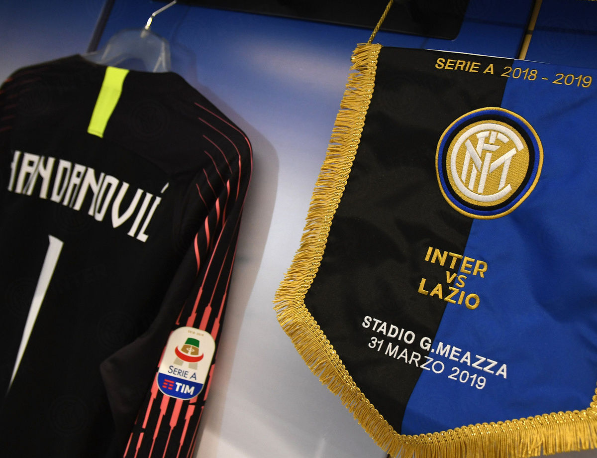 Susunan pemain Inter vs. Lazio