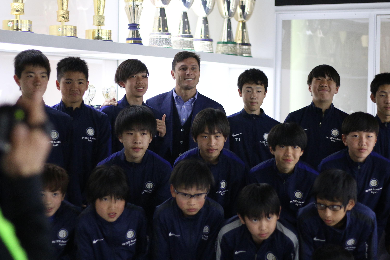 Internship in Milan for Inter Academy Japan