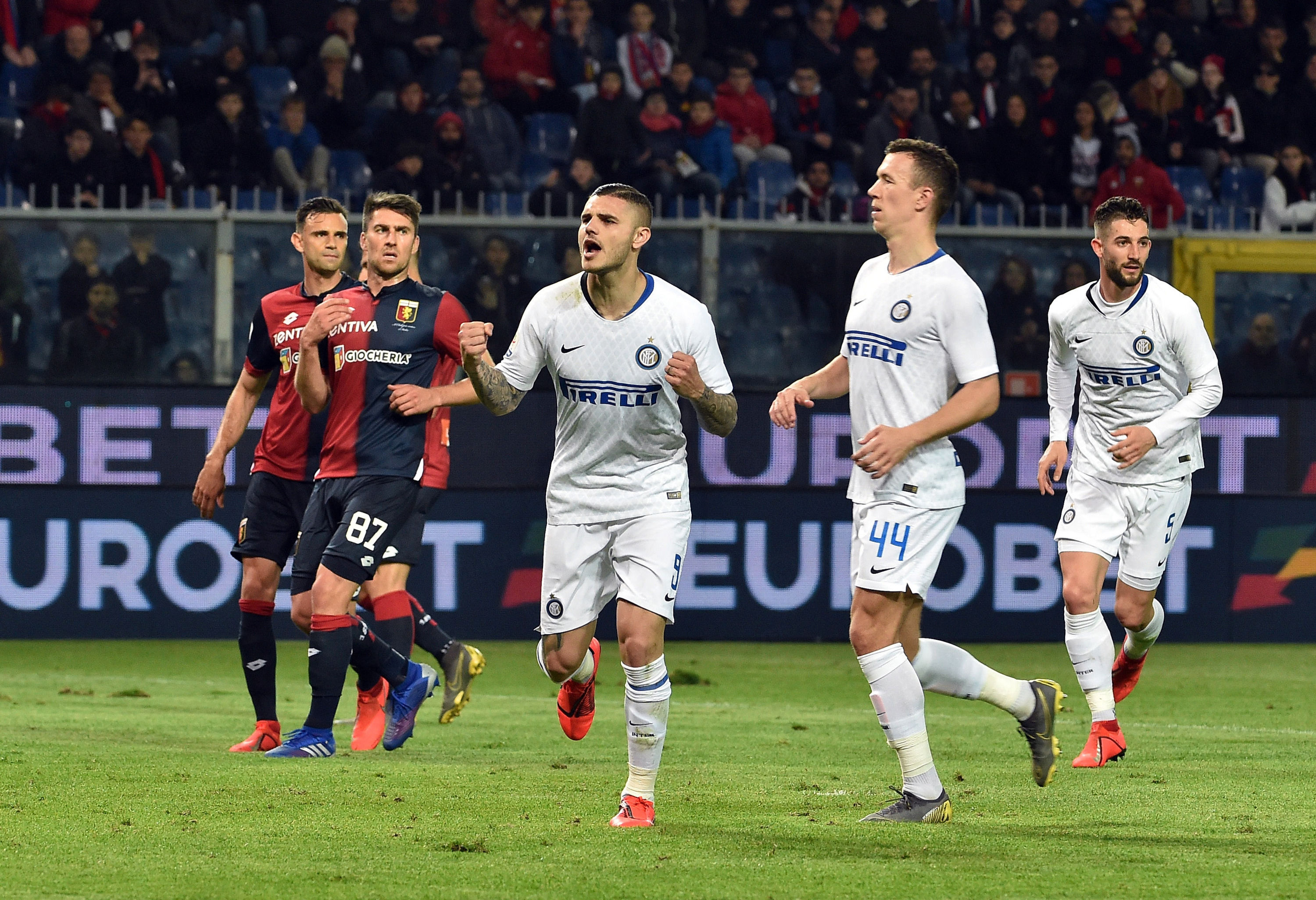 The photo gallery from Genoa vs. Inter
