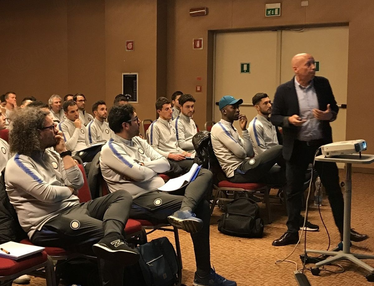 Inter Youth Coach Master: Maurizio Viscidi ospite del 3° workshop