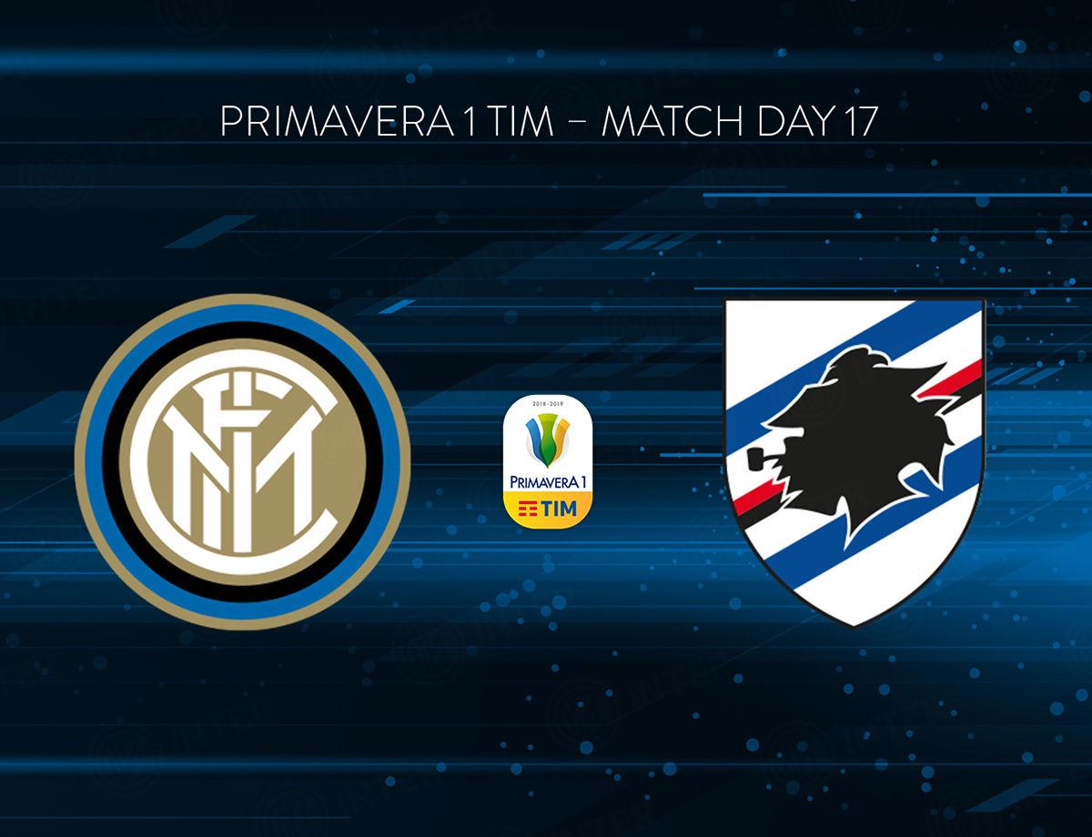 Primavera 1 TIM, Inter vs. Sampdoria live on Inter TV and inter.it