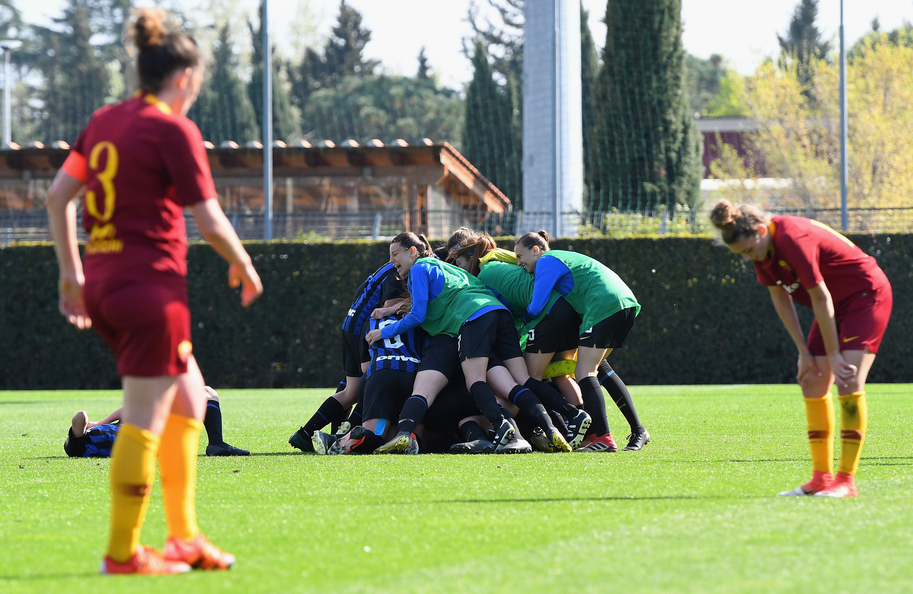 Inter beat Roma to be crowned the Women's Under-19 champions!