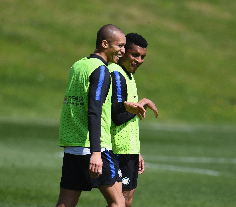 Trabajo táctico y partidillo de cara al Inter vs. Roma