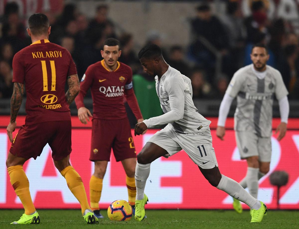 Inter-Roma, le statistiche del match