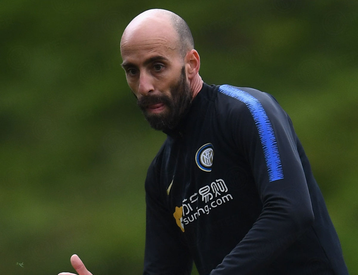 "Borja Valero: ""Inter vs. Juventus is a crucial match"""