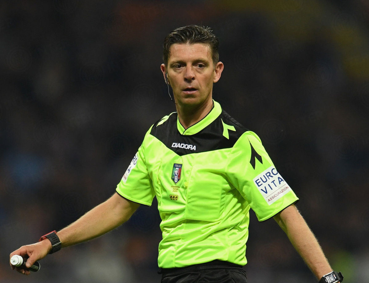 Rocchi to referee Udinese vs. Inter